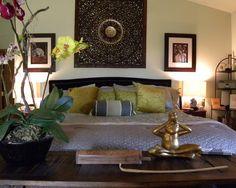 Asian Bali Design - guest room ideas