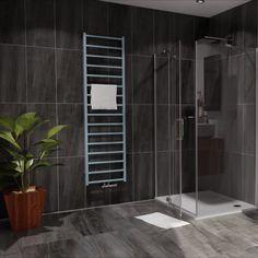 Jednoduchost a elegance se snoubí v novém designovém tělese Fresh. Vyvážený návrh s pravidelným rozložením vodorovných profilů je ideálním doplňkem do každé moderní koupelny a díky svým rozměrům i do minimalistických prostor. Široká nabídka barev včetně chromového provedení umožní přeměnit radiátor ve skvělý doplněk vašeho interiéru. Bathroom Radiators, Designer Radiator, Divider, Bathtub, Furniture, Home Decor, Standing Bath, Bathtubs, Decoration Home