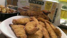 Pinty's line of Gluten Free Chicken Fingers #yegfood #gfree