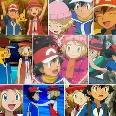 Beautiful ♡ Amourshipping moments ^.^ ♡ I give good credit to whoever made this