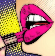 New Ideas Pop Art Lips Illustration Posts Pop Art Lips, Lip Art, Disney Pop Art, Art Activities For Toddlers, Pop Art Drawing, Pop Art Women, Pop Art Wallpaper, Pop Art Illustration, Hip Hop Art
