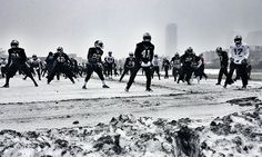 Total Access: Practicing Through The Snow(more like sleet, ice rainy mess)1/22/16 # Keep pounding PanthersNation