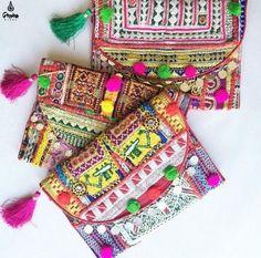 Clutch Vintage Banjara Style - Gittana HinduGittana Hindu