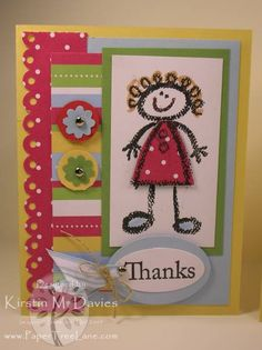 Crayon Kids card -#1 by frog legs - Cards and Paper Crafts at Splitcoaststampers