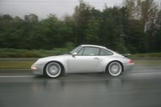 Looks good in the rain! Porsche 993 Carrera 2. #everyday993 #porsche