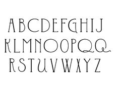 font for bunting