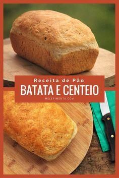 Pão integral de batata e grãos - Rico em fibras e delicioso    Receita de pão feita com batatas, farinha integral e grãos. Um pão rico em fibras delicioso e super macia.