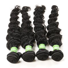 Deep Wave Brazilian Hair, Natural Materials, Hair Extensions, Natural Hair Styles, Weave Hair Extensions, Extensions Hair, Extensions