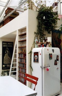 This is so right, and of course, I need that ladder, too. Home & Garden: Inspirations cuisines [4]
