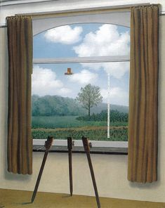 Magritte, René | The Human Condition | 1933 | Oil on canvas | National Gallery of Art, Washington DC