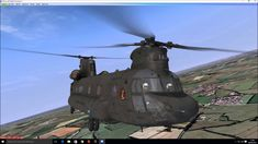 Chinook Helicopter for FSX Flight Simulator