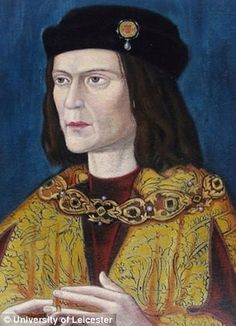 The earliest surviving portrait of Richard III in Leicester Cathedral.