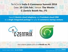 C-Zentrix #Cloud_telephony and #Freshdesk cloud #CRM as a single integrated package is the new age power of #customer service #technology for the ecom startups. #czentalk #Czentrix #Czentrixcloud #Gurgaon #India