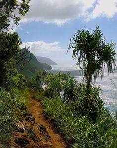 Kalalau Trail, Kauai / strenuous 11 mile hike from Kee Beach to Kalalau Valley