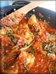 Ayam Rica-Rica by nisa tsvetkova Indian Food Recipes, Asian Recipes, Paneer Recipes, Malay Food, Indonesian Cuisine, Indonesian Recipes, Malaysian Food, My Favorite Food, Food Hacks