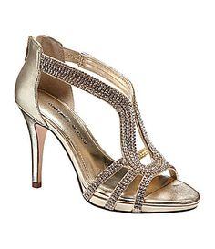 Antonio Melani Tamra Jeweled Sandals