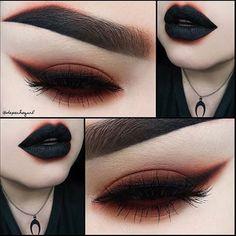 @depechegurl wearing Dark Matter shadow check out her page for more details! #meltcosmetics #meltdarkmatter