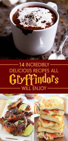 14 Delicious Recipes That'll Satisfy Every Gryffindor's Appetite
