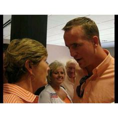 Pat and Peyton. The 2 most incredible sports legends!!