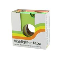 Removable Highlight Tape No INK Dorm Room Essentials Supply Product for College Dorms Study Aid College Supplies, College Hacks, School Hacks, School Supplies, Office Supplies, Too Cool For School, Back To School, High School, Dorm Life