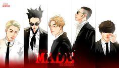 BIG BANG fan art. #newalbum #MADE