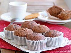 Receta Postre : Magdalenas de galletas maría rellenas de dulce de leche.