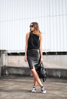 Black & Leather