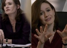 AsianCajuns - The Newsroom Style Emily [i love this necklace she wears]