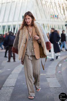 Aurora Sansone Street Style Street Fashion Streetsnaps by STYLEDUMONDE Street Style Fashion Blog