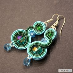My soutache earings.