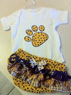 lsu baby - will be easy to change to Mizzou!!