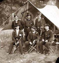 Antietam Artillery Officers