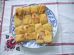 Scískance podľa babky Paulíny (fotorecept) Hot Dog Buns, Hot Dogs, Apple Pie, Menu, Bread, Food, Special Effects, Basket, Kitchens