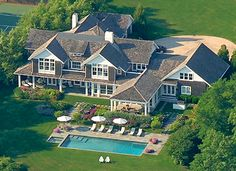 The future summer home in the Hamptons