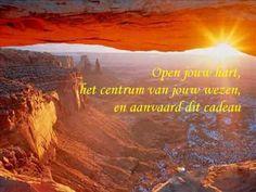 """Een cadeau, op verzoek in het Nederlands, van bijna 4 minuten van vrede begeleid door de prachtige muziek van Yanni """"In the morning light""""."""