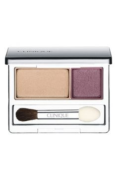 *** Clinique 'All About Shadow' Eyeshadow Duo Beach Plum - bought