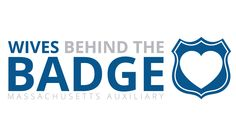 Wives Behind the Badge Logo Design