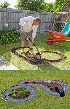 Circuito en nuestro jardín