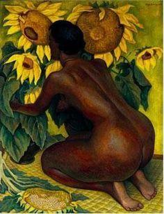 Diego Rivera, Woman on Knees (Mujer de Rodillas)