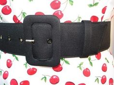 "I call it the ""Perfect Black Belt"" because it suits a wide range of waist sizes.