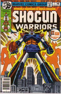 SHOGUN WARRIORS 1 BRONZE AGE MARVEL COMICS
