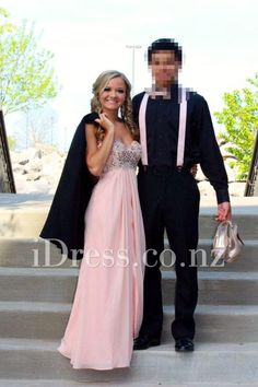 strapless sweetheart empire chiffon long prom dress