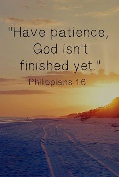 My Road to Recovery after Divorce: Monday Morning Motivation….Patience
