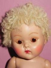 VINTAGE STRUNG FEVER CHEEK VOGUE GINNY WITH CARACUL POODLE WIG