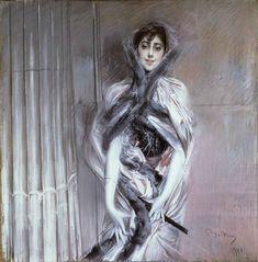 Giovanni Boldini | 1842-1931, Italy (réalisme brillant / purism) |  Emiliana Concha de Ossa