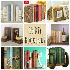 Craft of the Week: 15 DIY Bookends