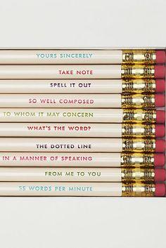 pretty pencils #katespade