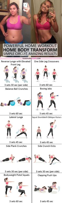 #womensworkout #workout #femalefitness Repin and share if this workout transformed your body from home! Click the pin for the full workout.