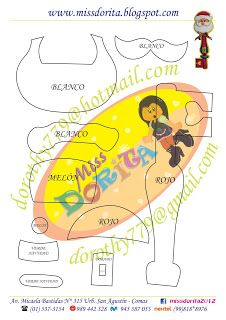 Miss Dorita: Navidad Paper Dolls, Merry Christmas, Santa, Felt, Projects, Crafts, Amor, Christmas Crafts, Green Christmas