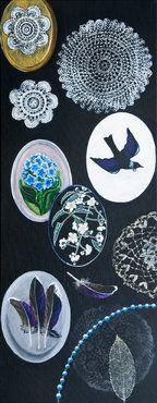 New Zealand artist Nz Art, Illustration Art, Collage, Bird, Artist, Artwork, Prints, Palm, Painting